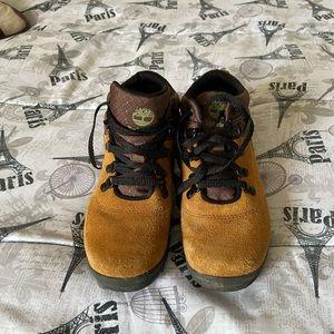 Kids Brown Timberland Hiking Boots on Poshmark